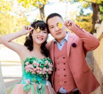 我们的结婚照